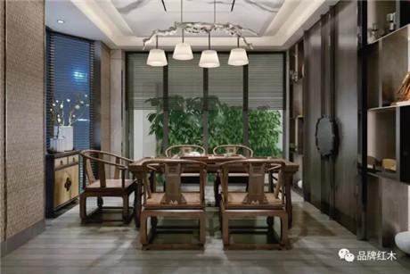 新中式是源于传统而又有别于传统的创意型的中式家具