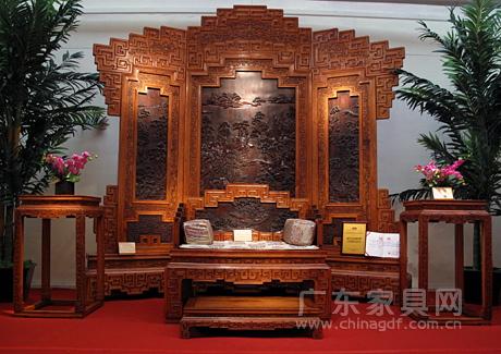 第五届中国(乐从)红木家具艺术博览会获奖作品(一)